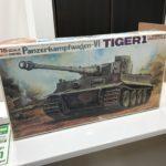 バンダイ ドイツ6号重戦車タイガー1 1/15スケール