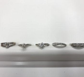 ダイヤモンドとジルコニア