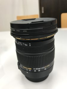 シグマ 17-50mm F2.8 EX DC OS