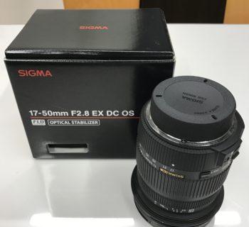 SIGMA 17-50mm F2.8 EX DC OS