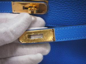 買取り堂 エルメス ケリー35 ゴールド金具