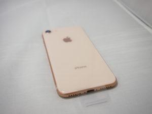 買取り堂 iPhone8 Gold 背面