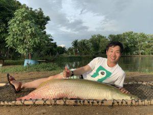 ピラルク AmazonBKK 釣り