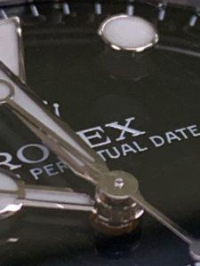 ロレックス 文字盤 真贋ポイント