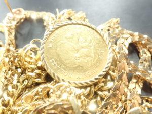 貴金属 金 K18の写真