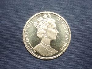 K22 マン島エンジェル金貨