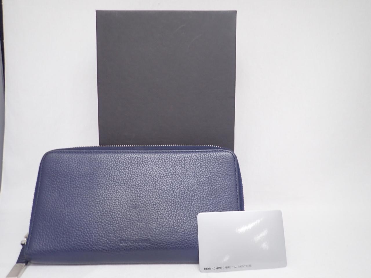 ディオールオム長財布