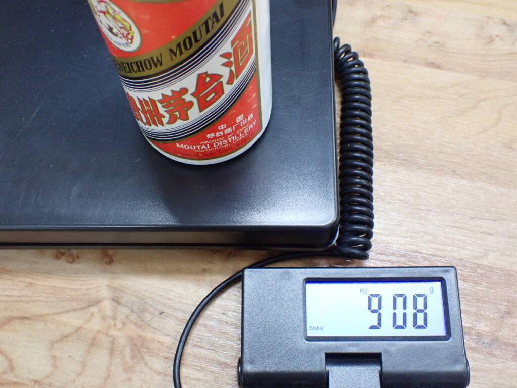 貴州茅台酒 MOUTAI マオタイ酒 天女ラベル53% 500ml 908g
