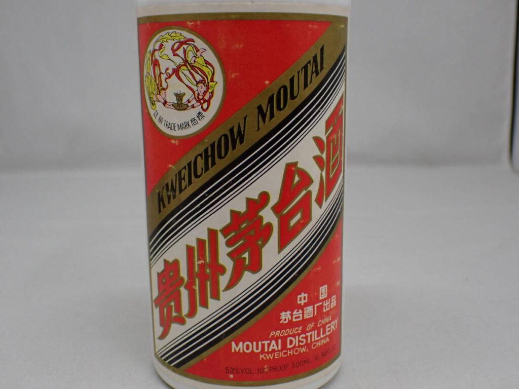 貴州茅台酒 MOUTAI マオタイ酒 天女ラベル 53% 500ml 908g
