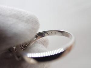 エメラルドダイヤモンドリング 0.25ct fd0.1ct 4.4g