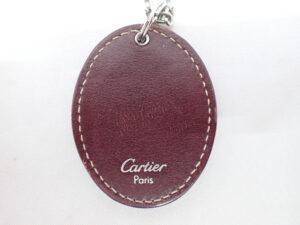 Cartier カルティエ キーホルダー 2Cモチーフ